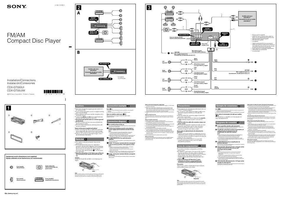 Cdx Gt550ui Wiring Diagram