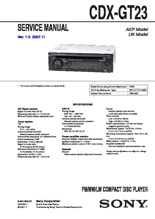 Cdx Gt700hd Wiring Diagram