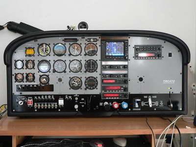 Cessna 172 Cockpit Diagram