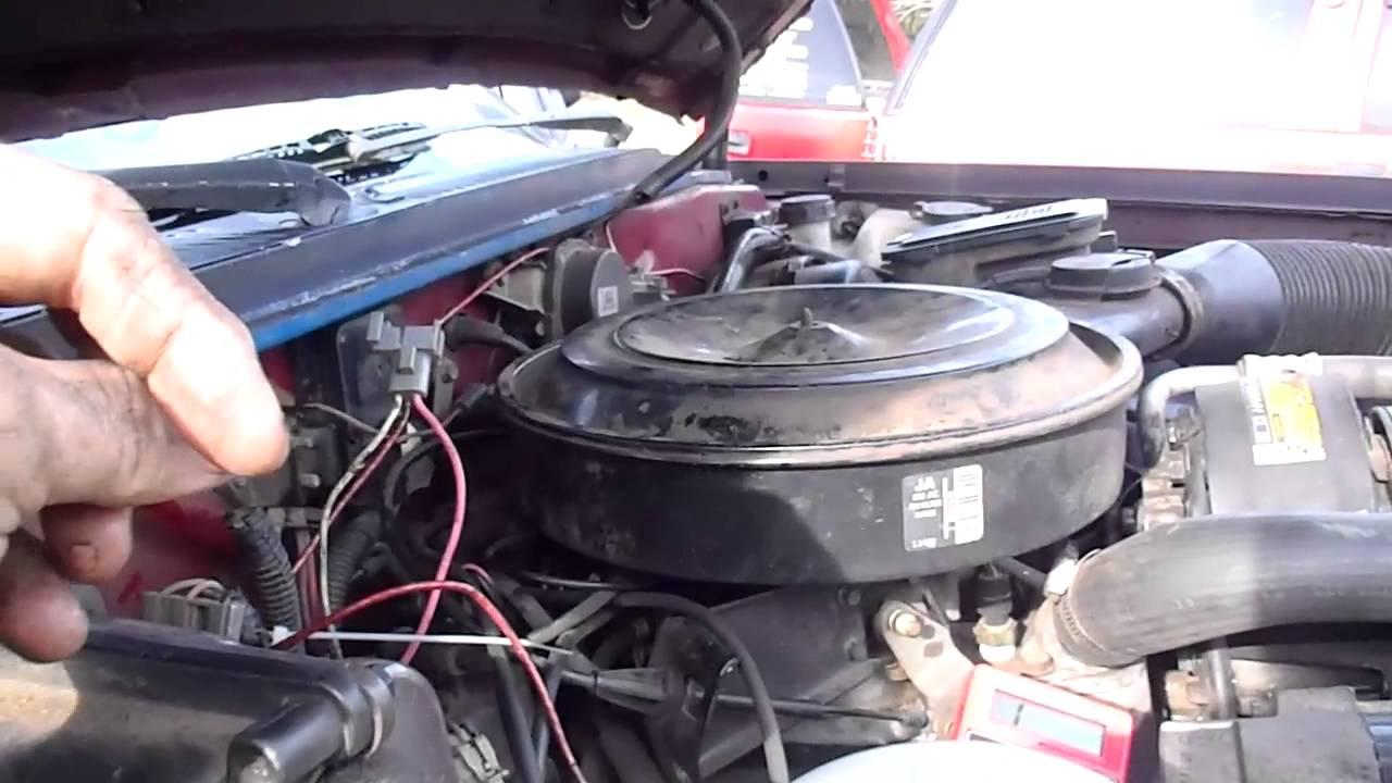 Chevy S10 4 3 1992 Starter Wiring Diagram