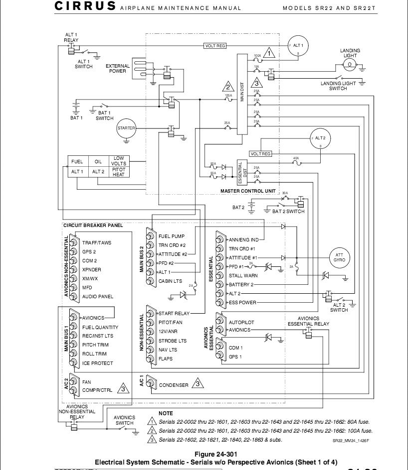 Cirrus Sr20 Wiring Diagram