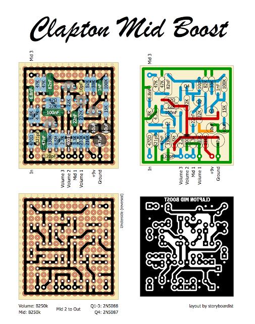 Clapton Mid Boost Wiring Diagram