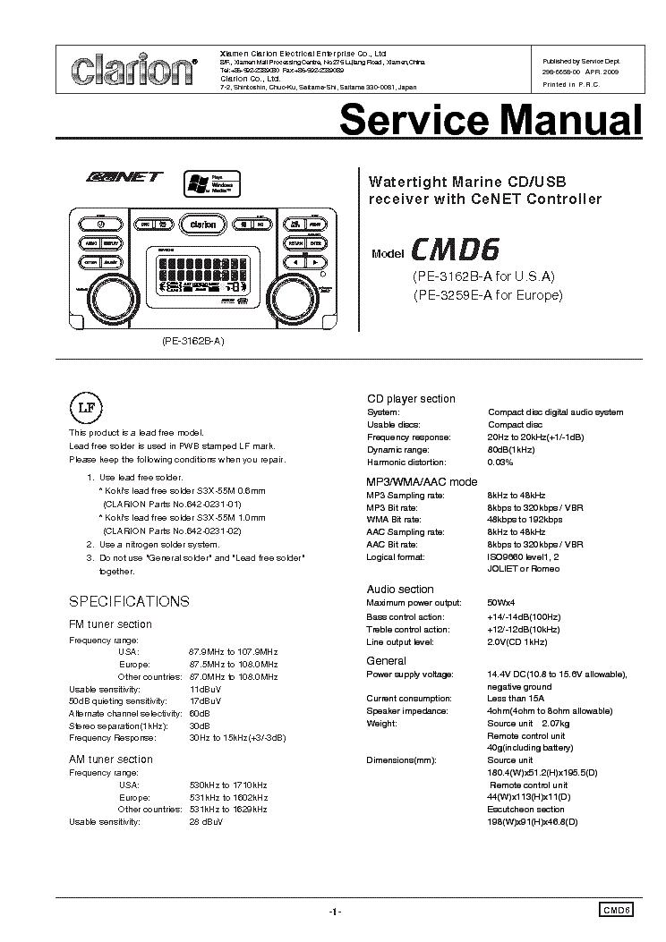 clarion dxz475mp wiring diagram rh schematron org