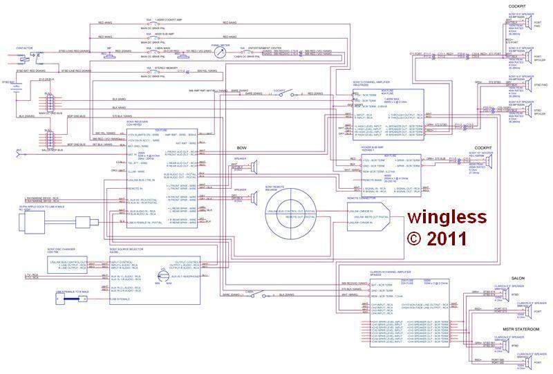 Clarion Marine Xmd3 Wiring Diagram from schematron.org