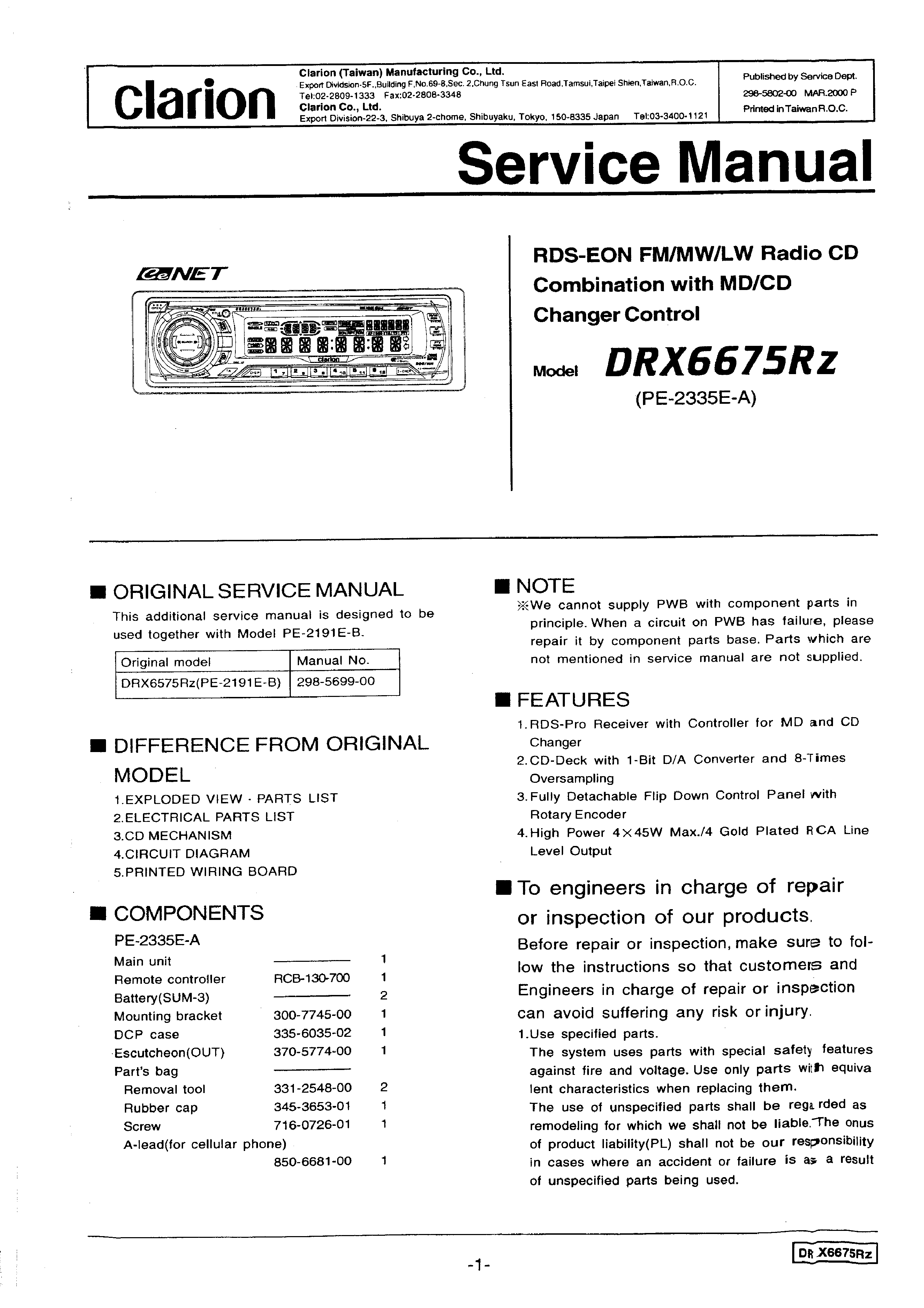 Clarion Cd Player Wiring Diagram Moreover Pioneer Radio Wiring Diagram