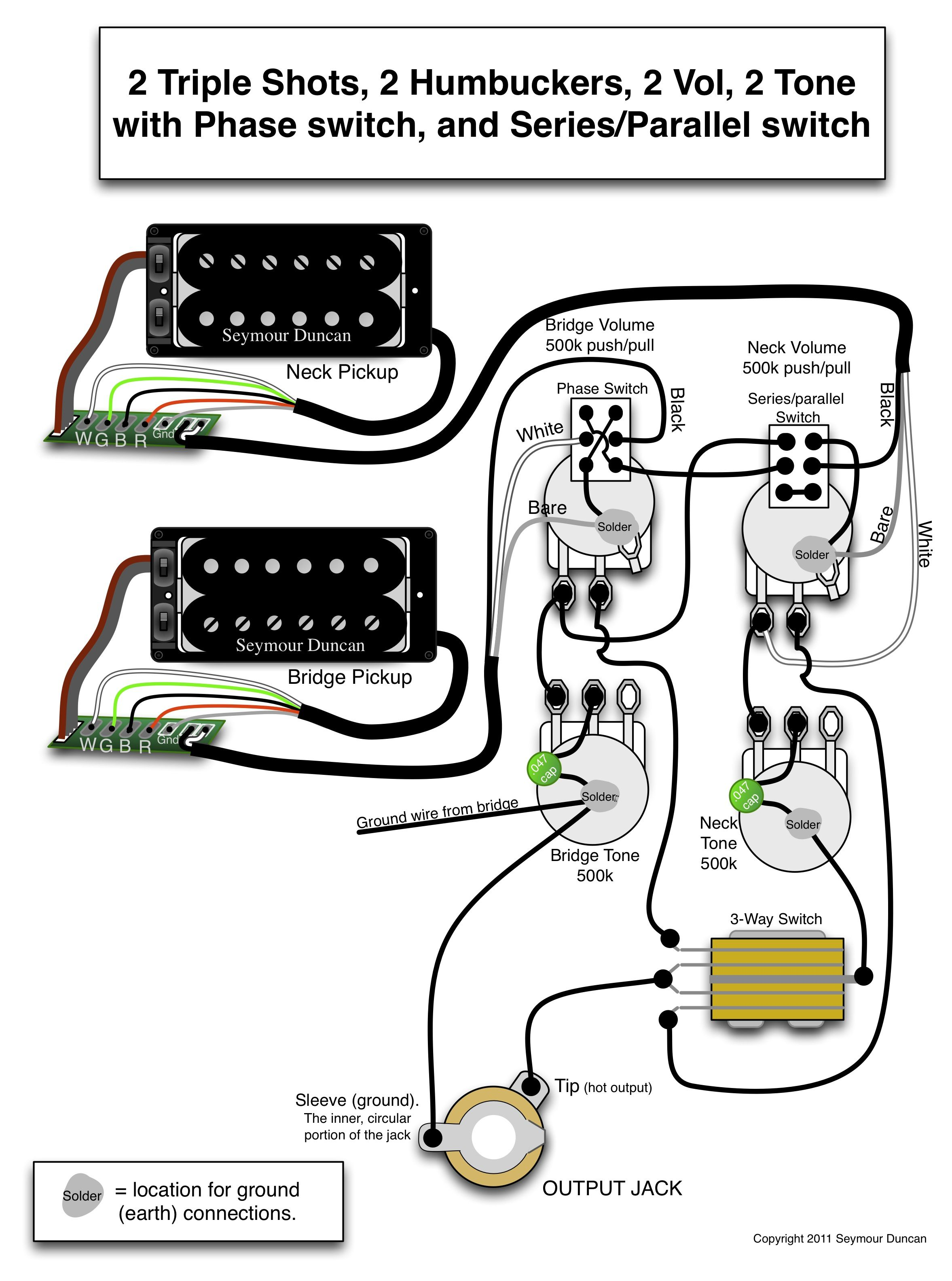Coil Tap Wiring Diagram Seymour Duncan