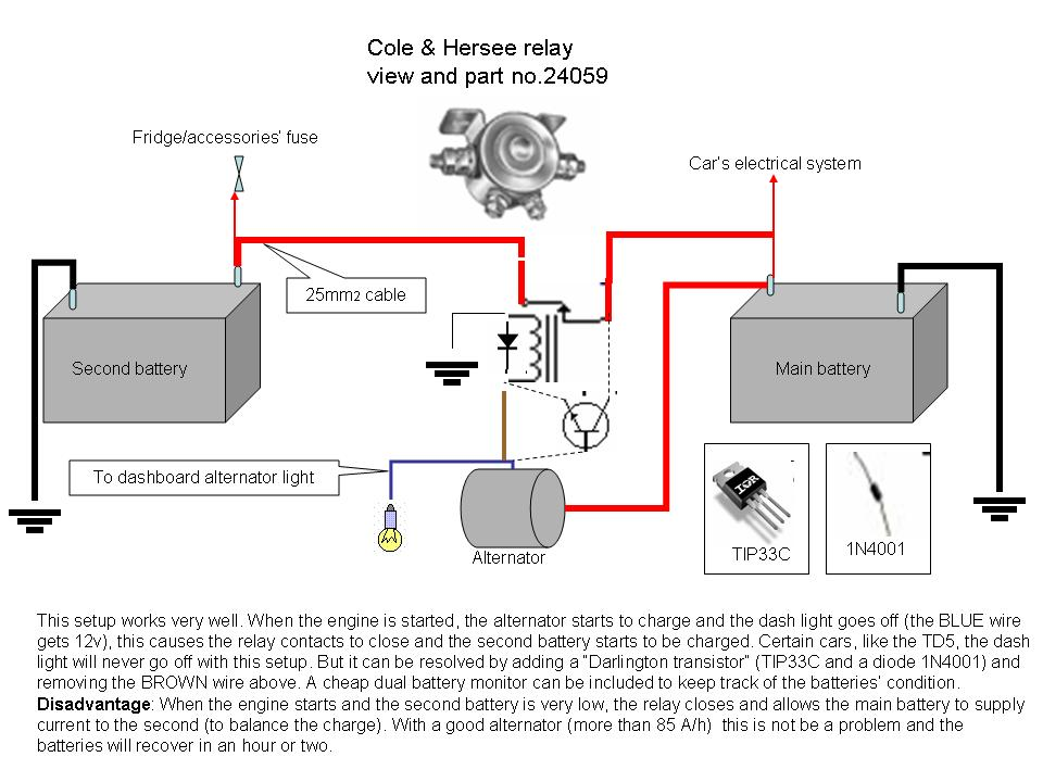Cole Hersee 24143 Wiring Diagram