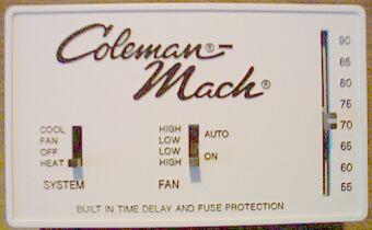 coleman mach thermostat wiring diagram. Black Bedroom Furniture Sets. Home Design Ideas