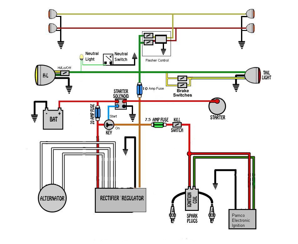 Color Schematics Yamaha Xs650 Wiring Diagram on xs850 wiring diagram, chopper wiring diagram, xv535 wiring diagram, fj1100 wiring diagram, yz426f wiring diagram, xj550 wiring diagram, xj750 wiring diagram, fz700 wiring diagram, xs360 wiring diagram, xv920 wiring diagram, xvs650 wiring diagram, xj650 wiring diagram, xs1100 wiring diagram, it 250 wiring diagram, xs400 wiring diagram, cb750 wiring diagram, yamaha wiring diagram, xt350 wiring diagram, xvz1300 wiring diagram, virago wiring diagram,