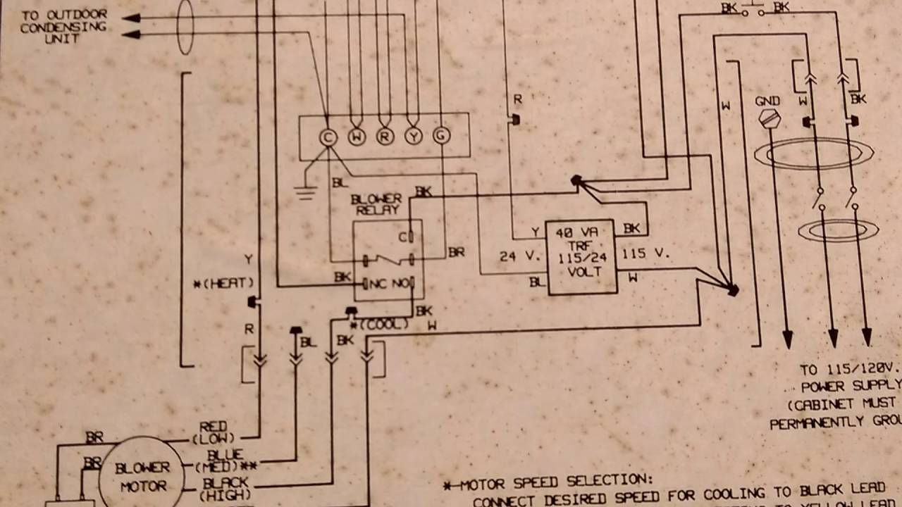 Comfortmaker Air Conditioner Wiring Diagram