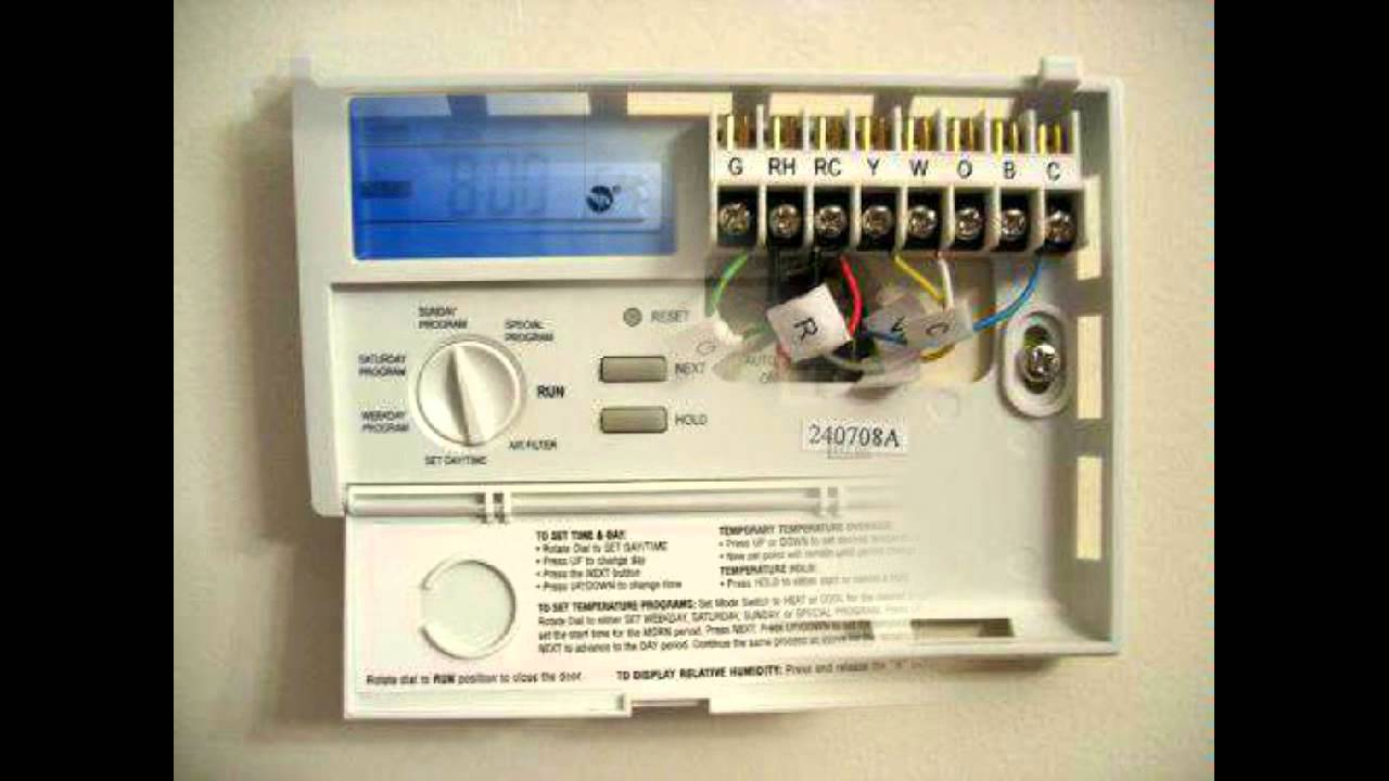 Comfortmaker To Lux Thermostat Wiring Diagram