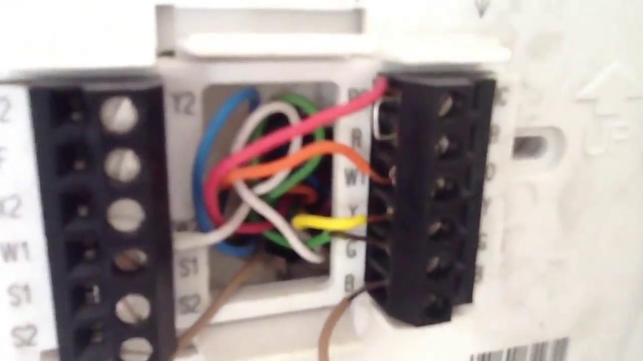 Comfortsense 7500 Wiring Diagram