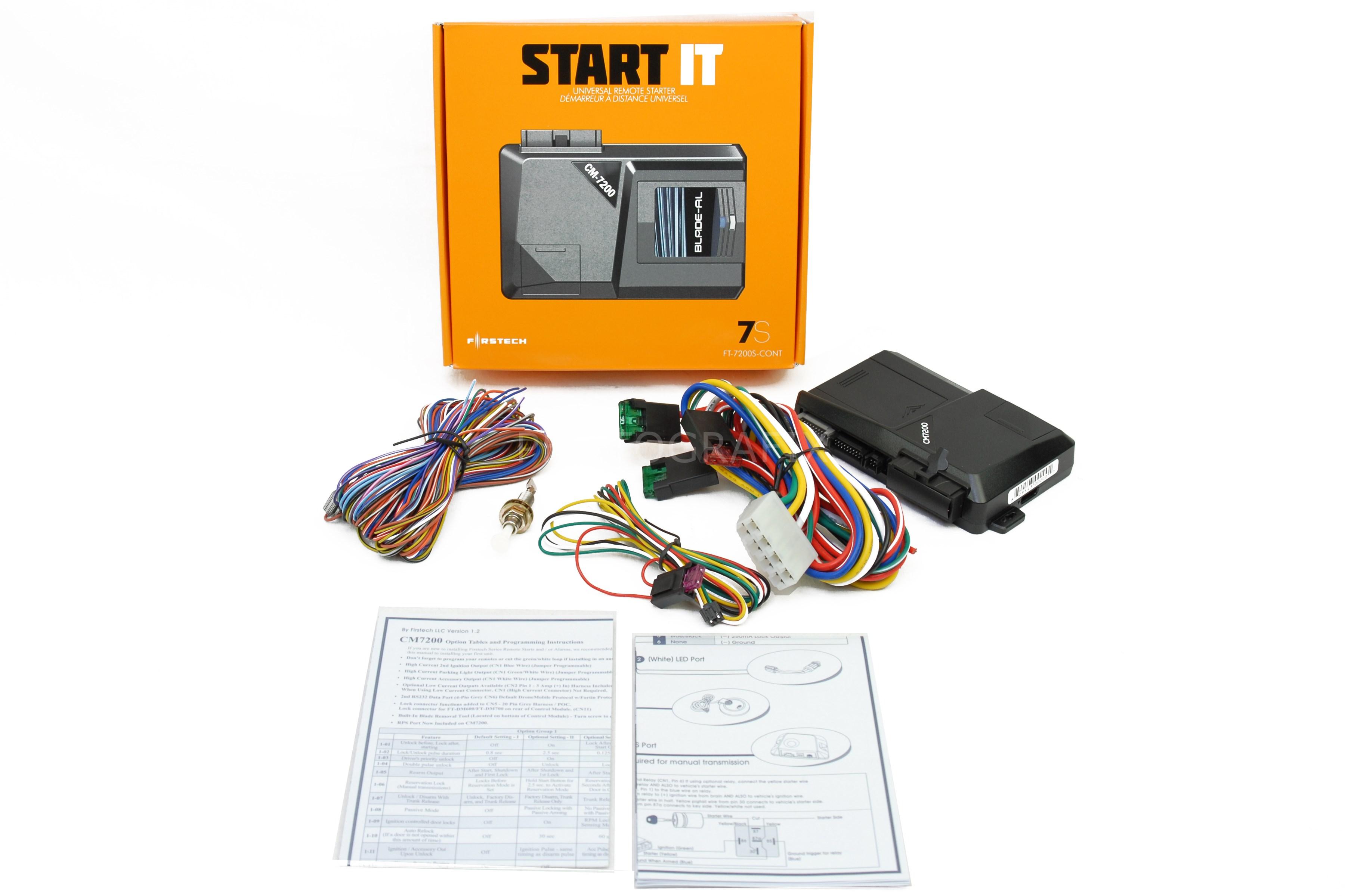 Compustar Remote Start Wiring Diagram