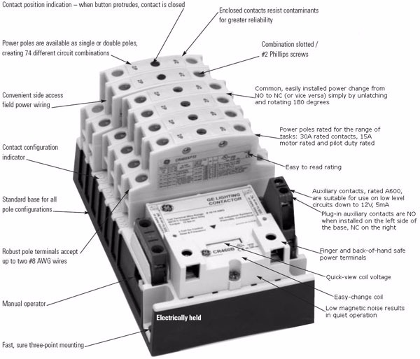 Contactor And Photocell Wiring Diagram