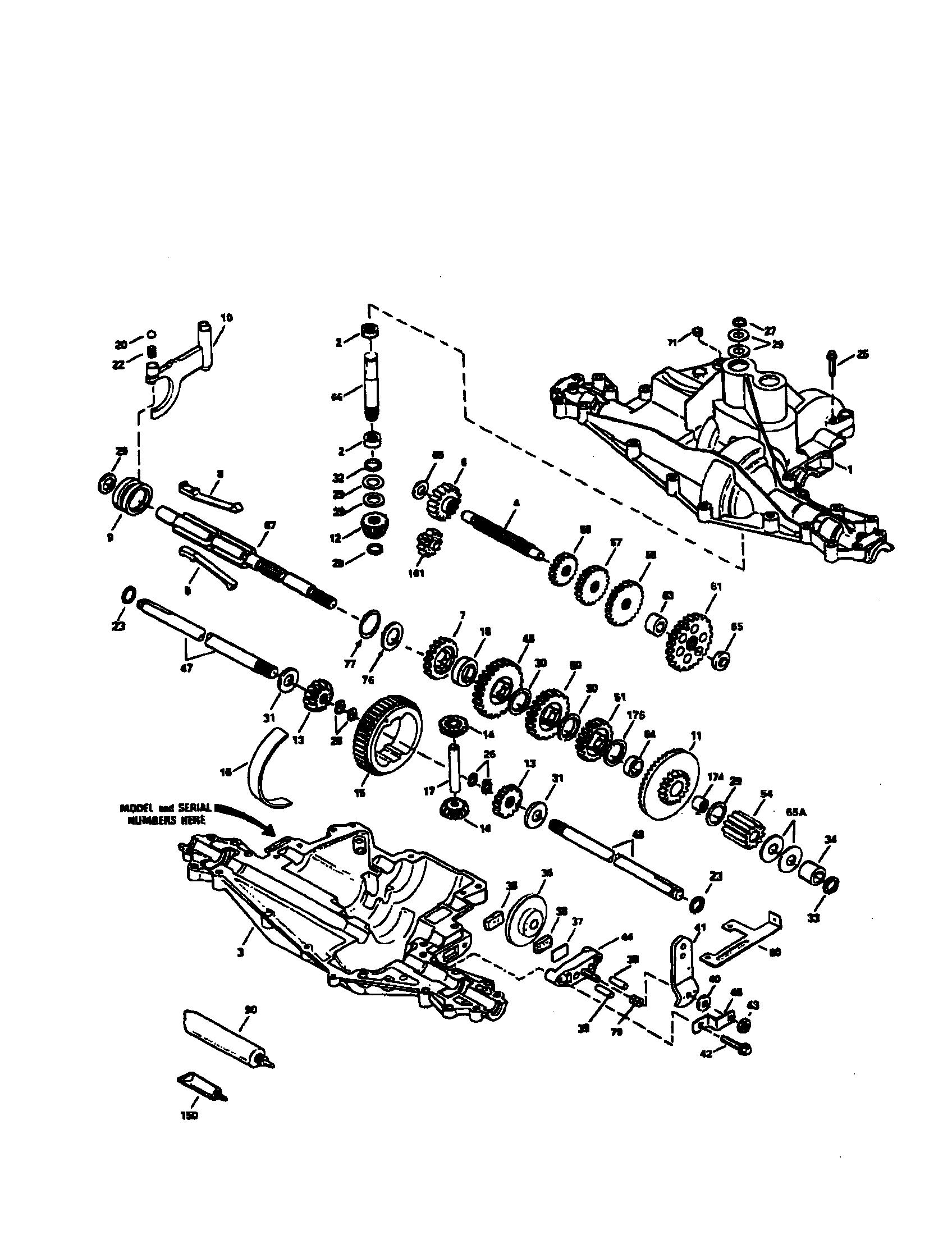 Craftsman Gt5000 Drive Belt Diagram