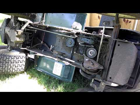 craftsman gt 6000 tractor auto or manual