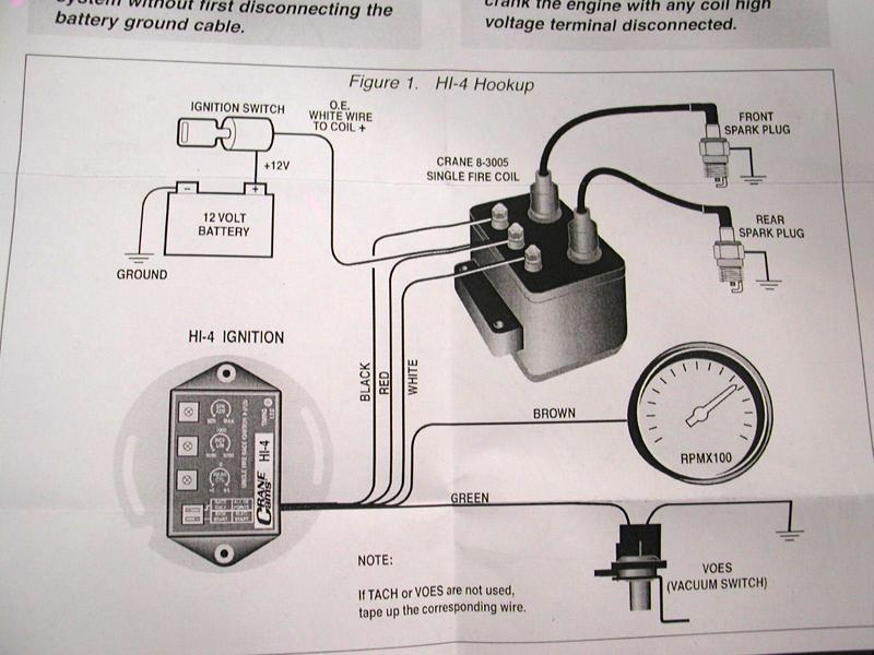 Crane Cam Fireball Hi-6 Ignition Wiring Diagram Lt1