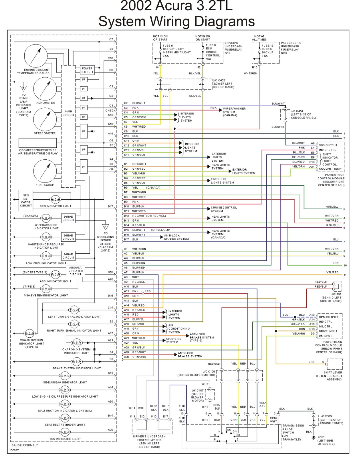 Cruise Control Wiring Diagram Rsx