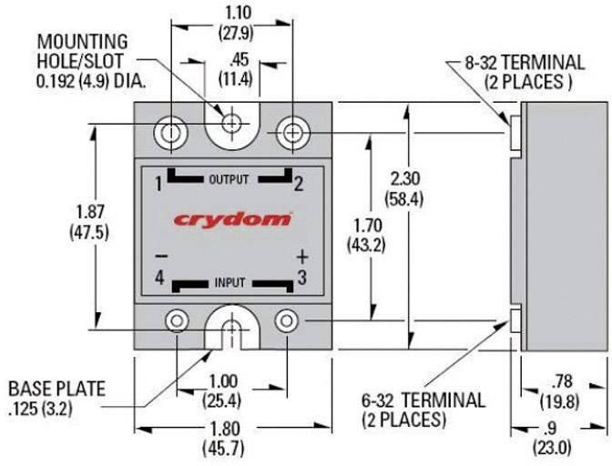 crydom ssr wiring diagram ssr wiring diagram ac to dc crydom d2450-10 solid state relay wiring diagram