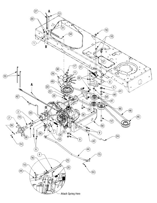 I1046 Cub Cadet Belt Diagram
