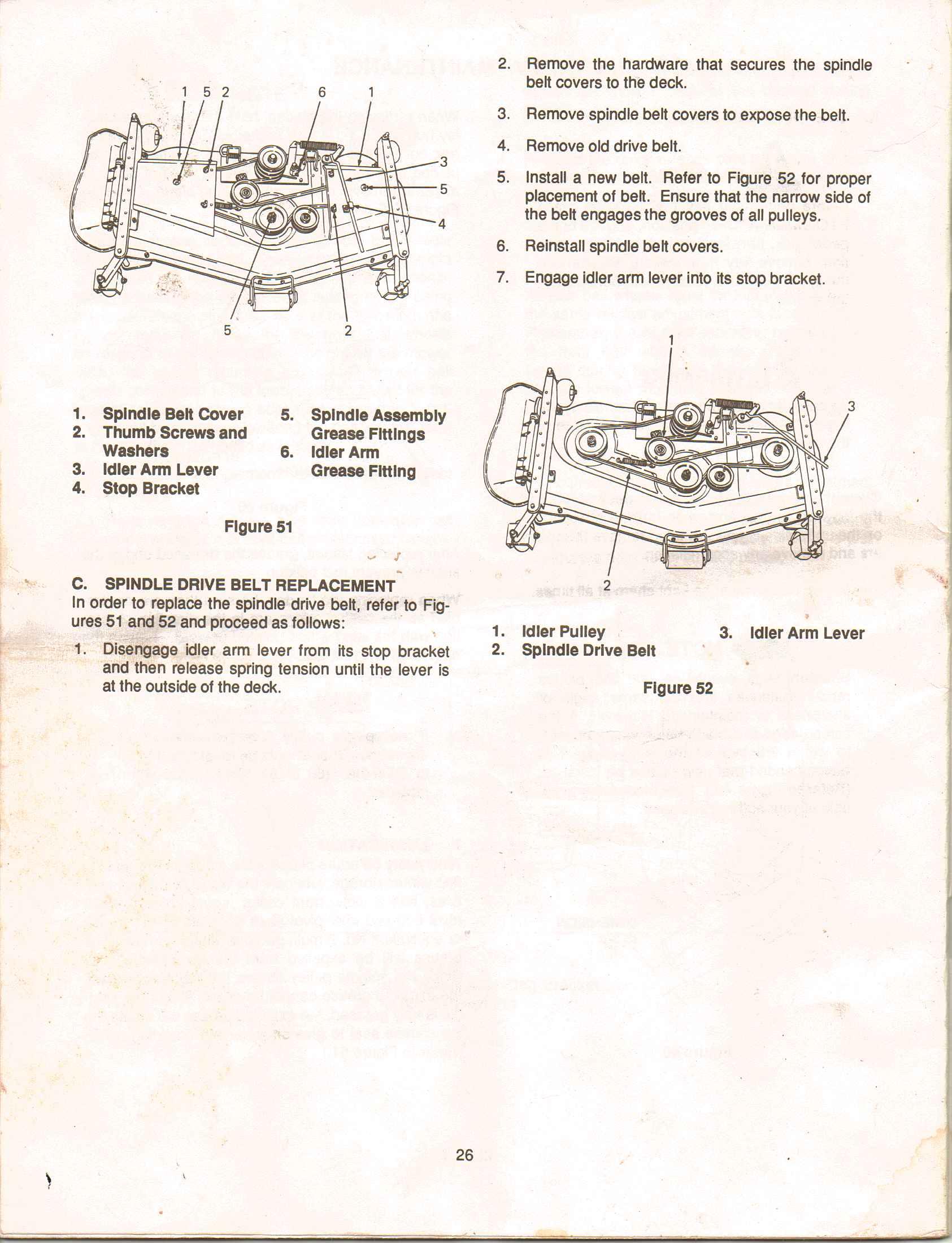Cub Cadet 1040 Drive Belt Diagram Manual Guide