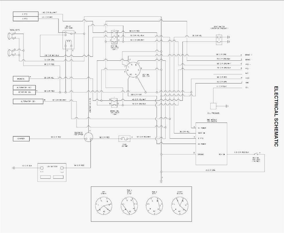 Cub Cadet Ltx 1050 Parts Diagram
