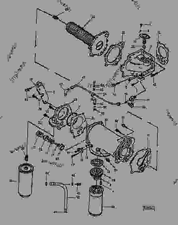 Cummins N14 Fuel Line Diagram