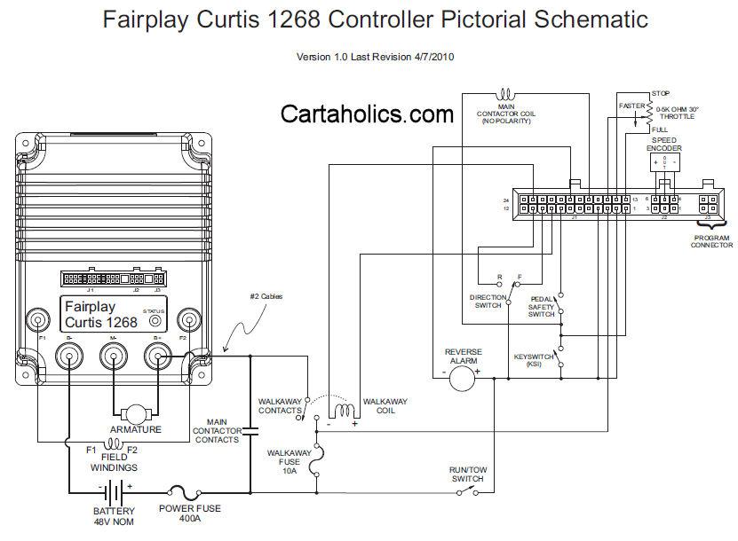 Curtis 1204 Controller Wiring Diagram from schematron.org