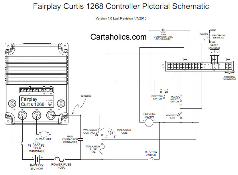 Curtis 1268 Controller Wiring Diagram