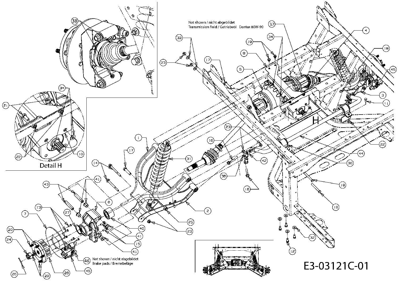 Cushman 898807 Wiring Diagram