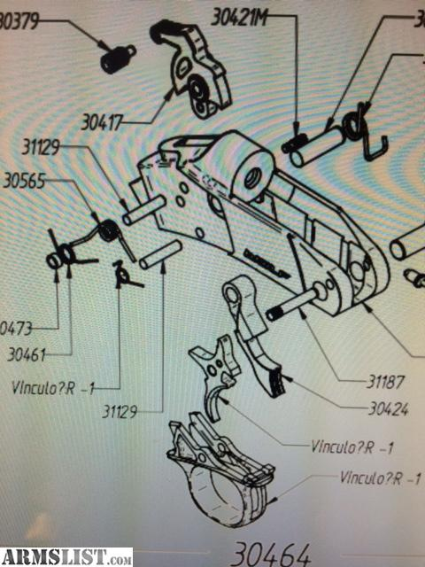 Cva Optima Trigger Assembly Diagram