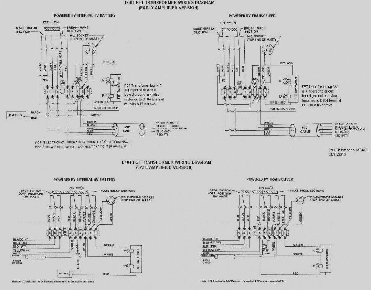 D104 Wiring Diagram