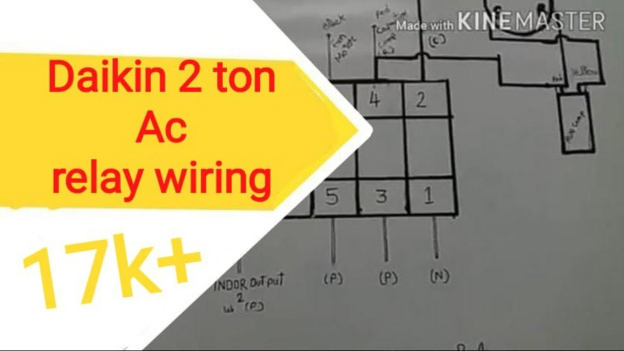 Daikin Split Ac Wiring Diagram