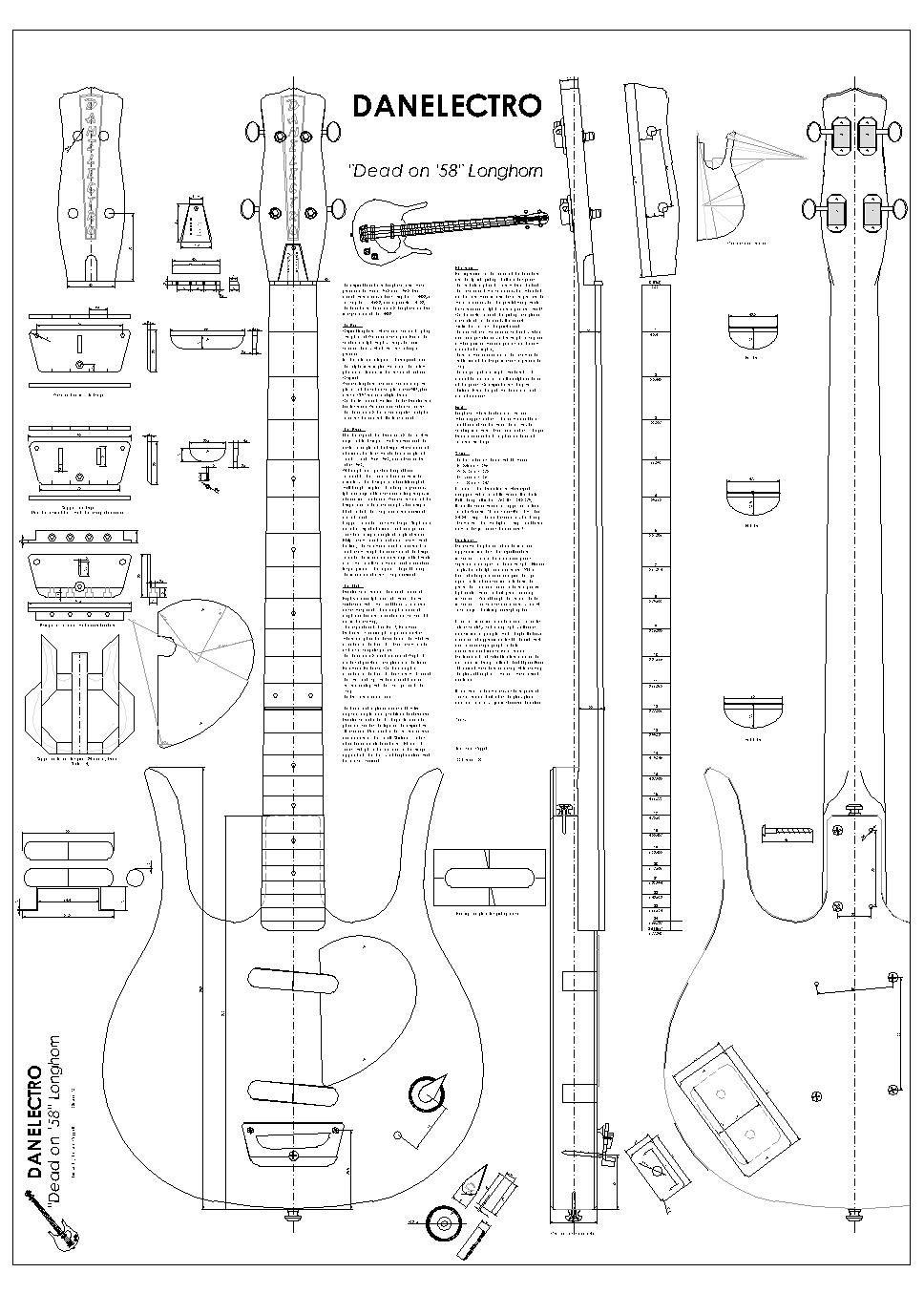 Danelectro Hodad Wiring Diagram