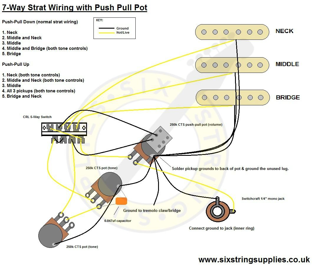 David Gilmour Stratocaster Wiring Diagram