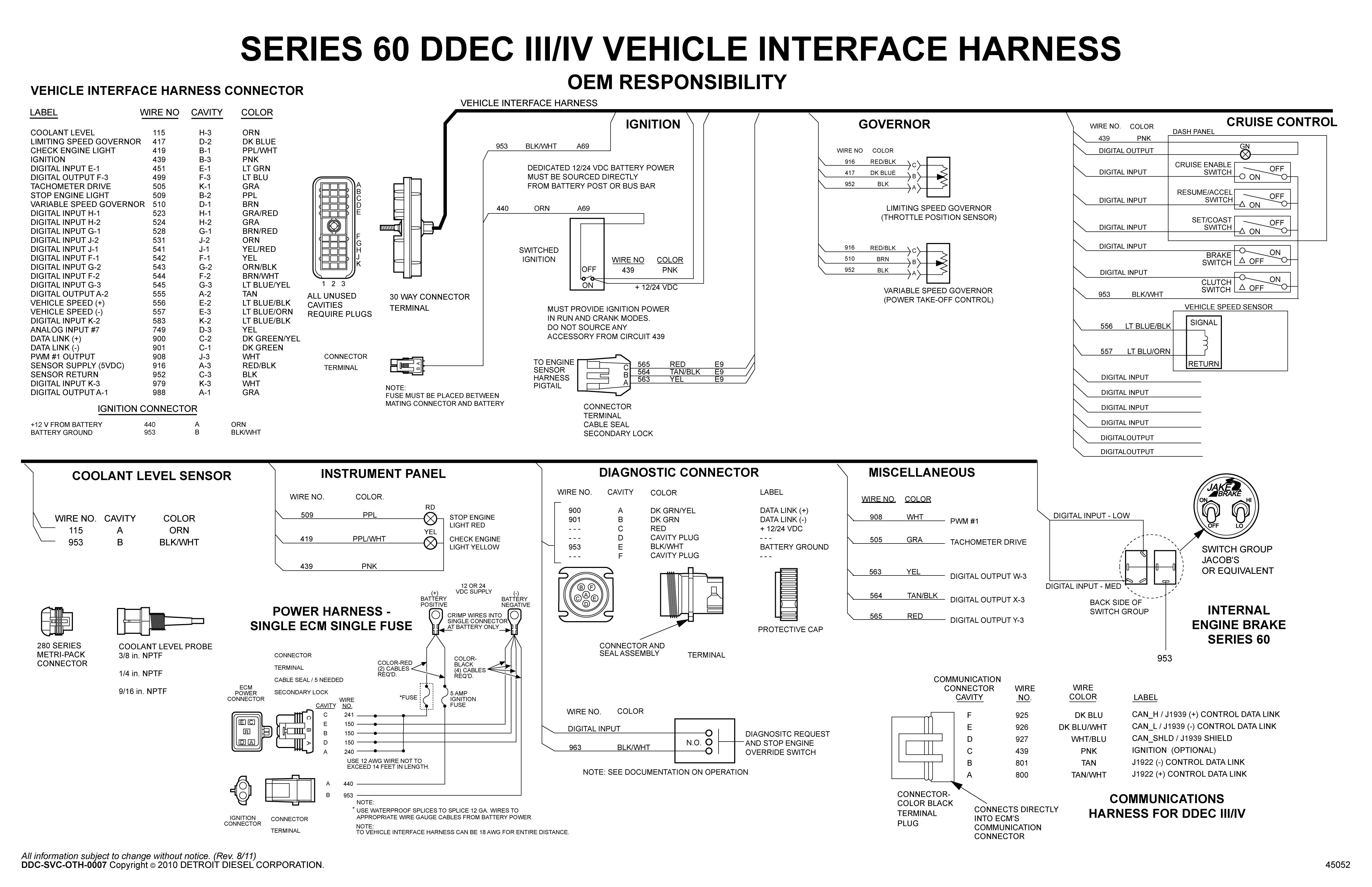 Ddec Iv Ecm Wiring Diagram