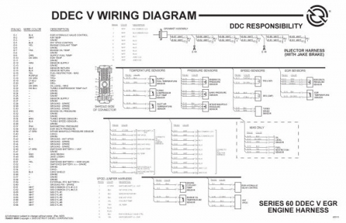 ddec iv ecm wiring diagram. Black Bedroom Furniture Sets. Home Design Ideas