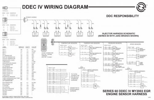 Ddec 4 Wiring Diagram For 60 Series Detroit. . Wiring Diagram Ddec Egr Wiring Diagram on