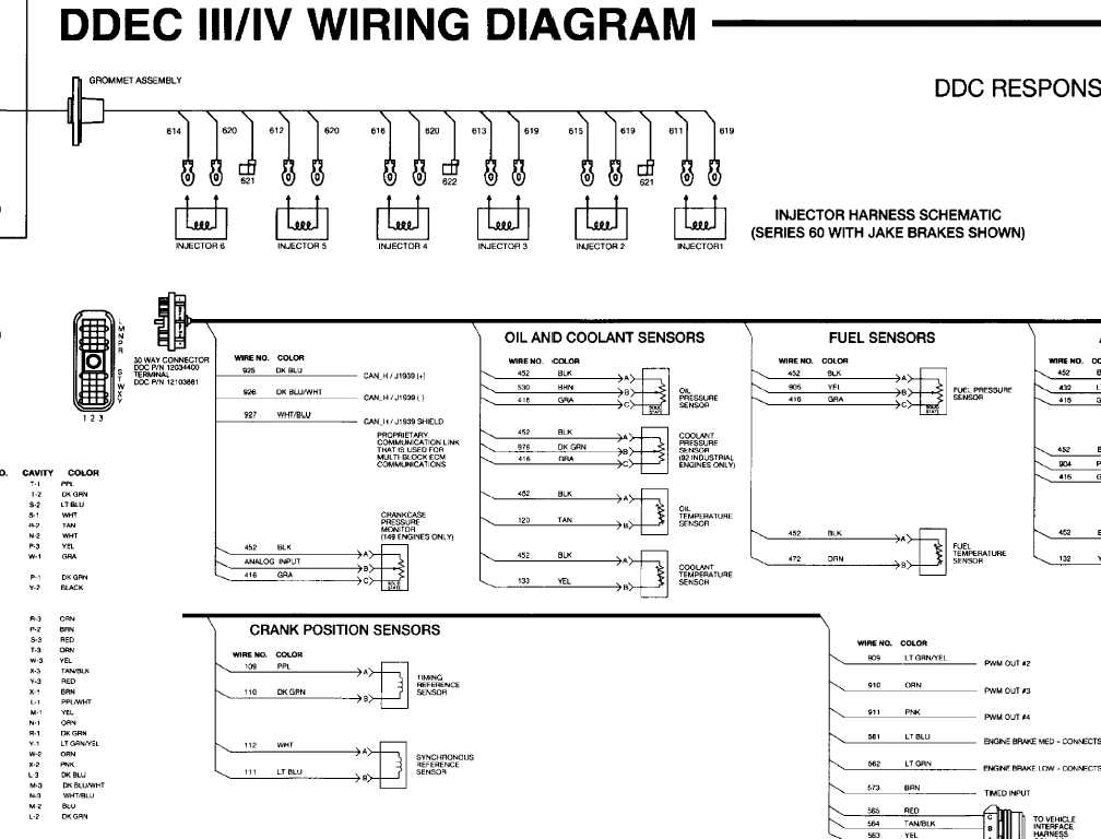 Ddec V Ecm Wiring Diagram