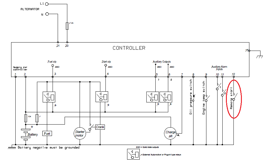 Deepsea 704 Wiring Diagram