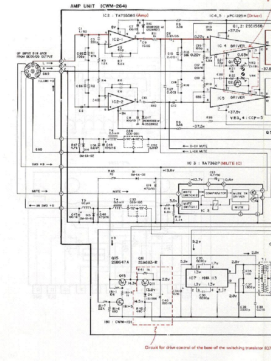 Deh P3700mp Wiring Diagram