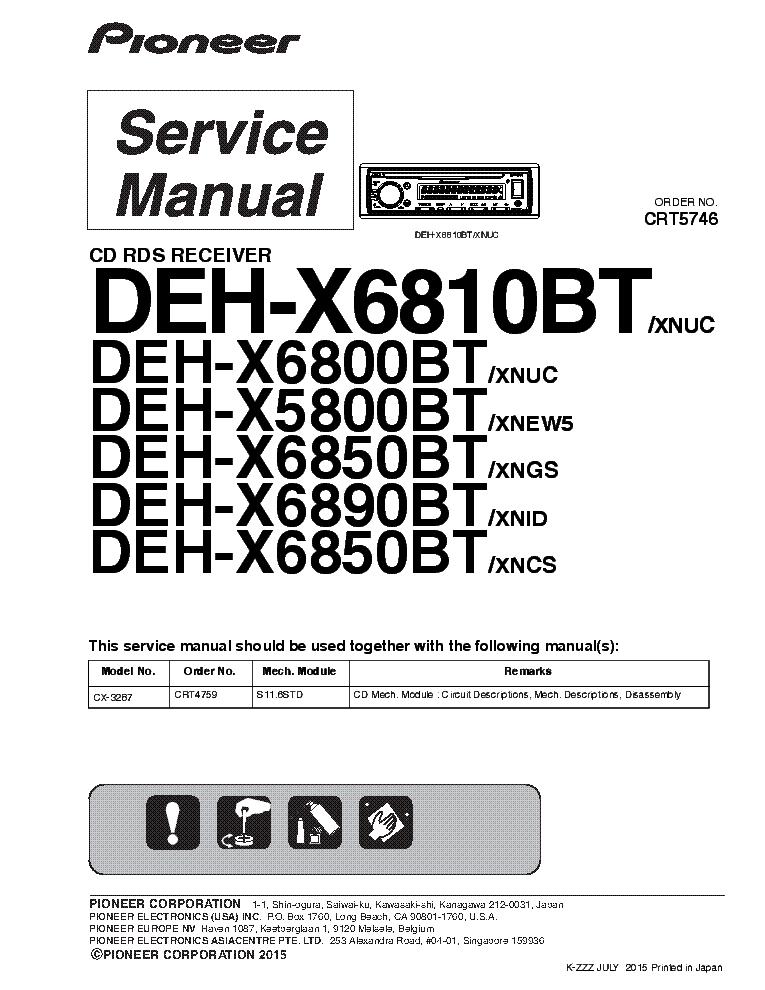 Deh P6000ub Wiring Diagram