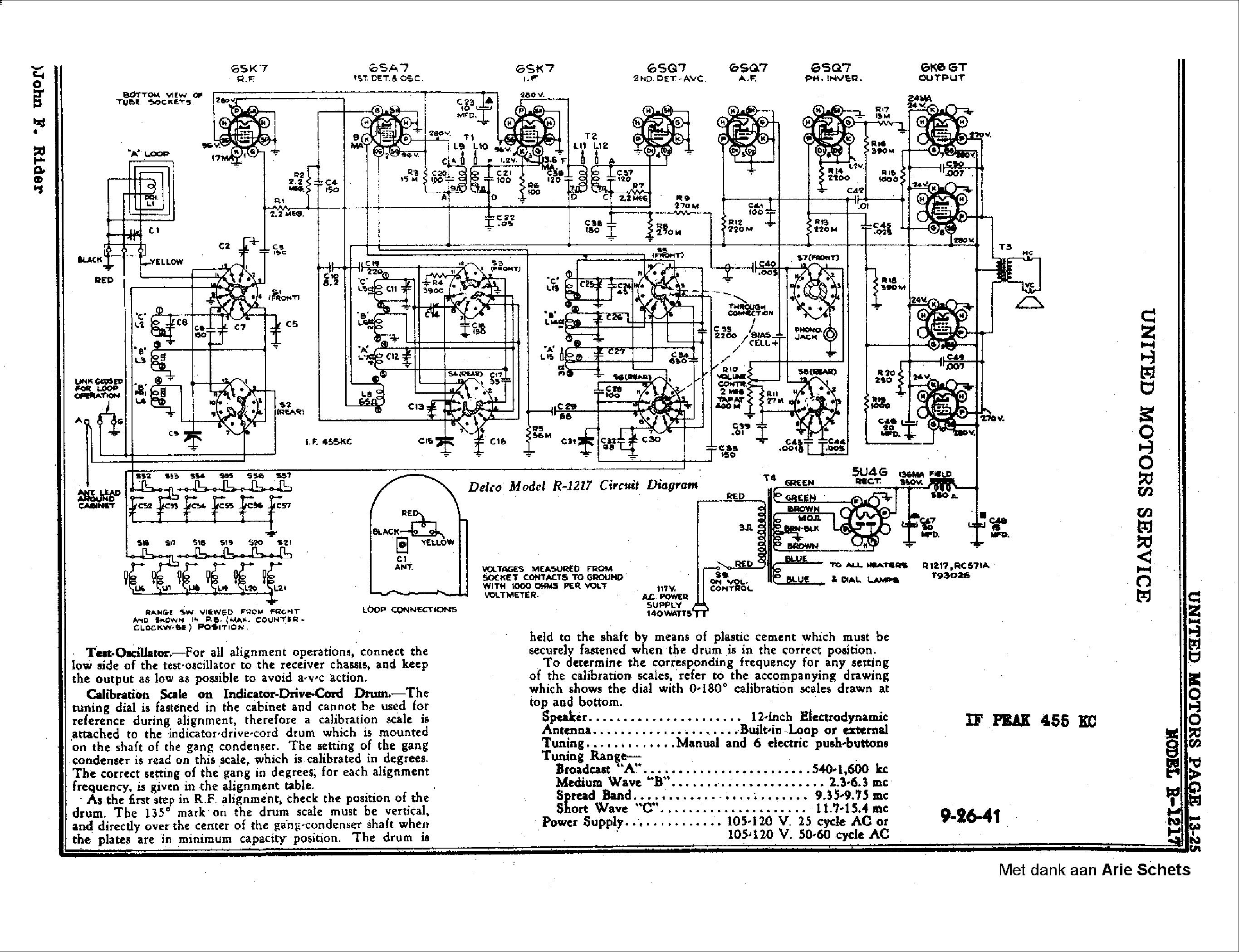 Delphi Delco Electronics Wiring Diagram 21002356