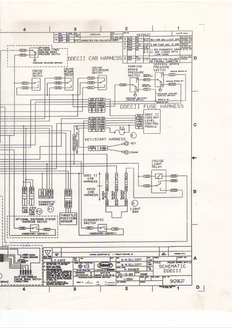 series 60 wiring harness wiring diagrams DDEC V Wiring Diagram