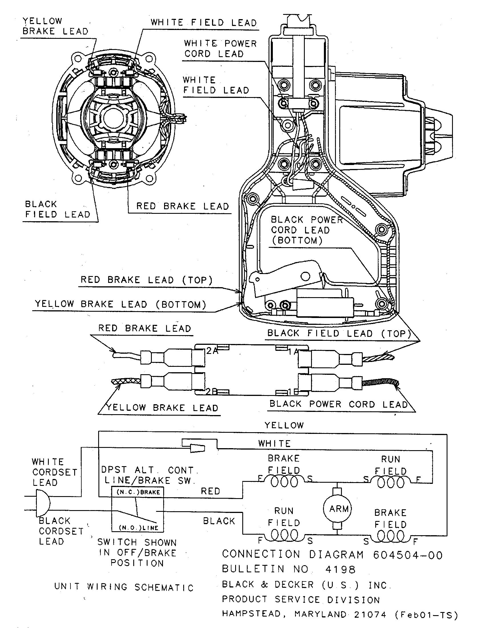 Dewalt Dw124 Wiring Diagram