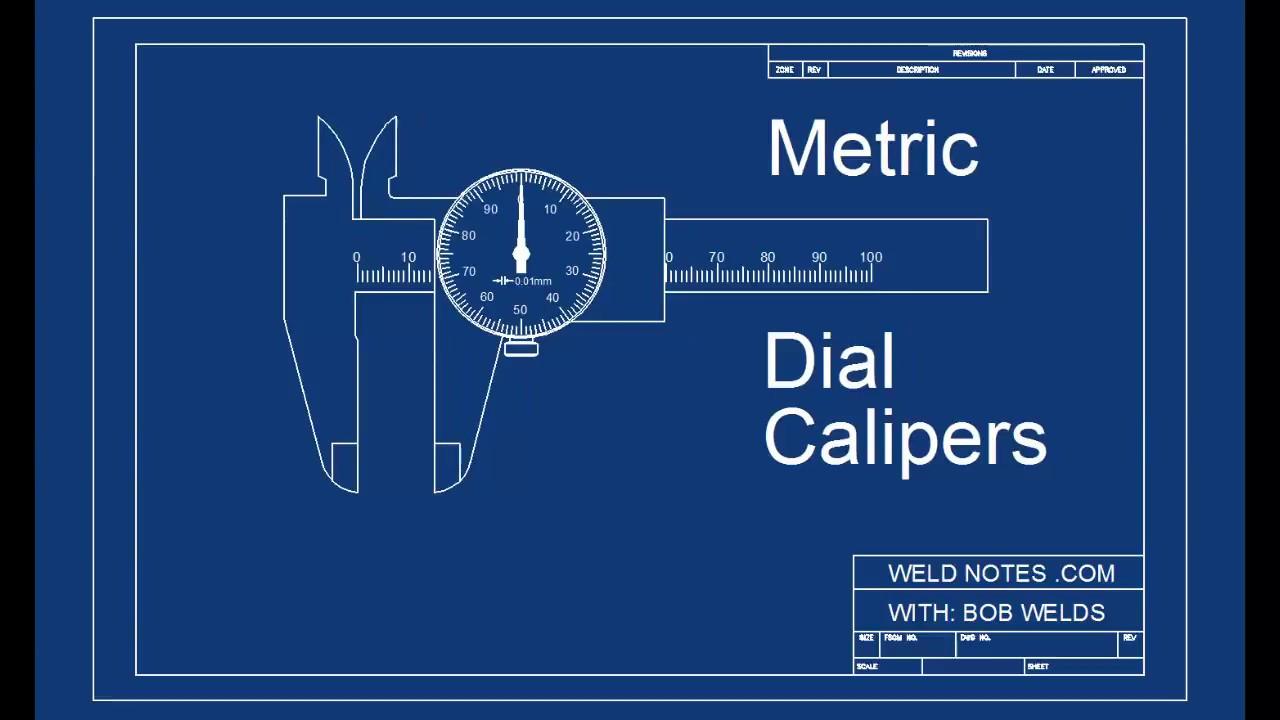 Dial Caliper Diagram
