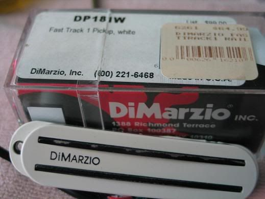 Dimarzio Fast Track 2 Wiring Diagram on