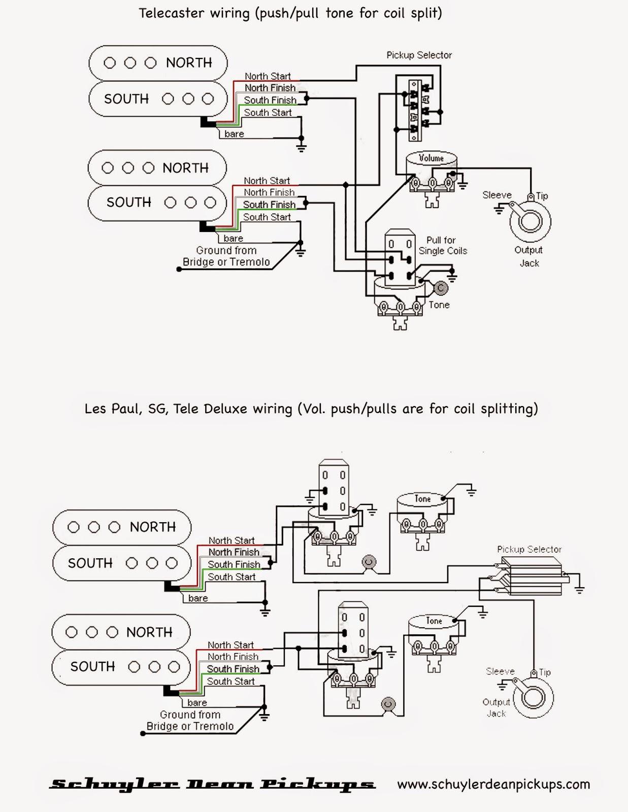 Dimarzio Hss Wiring Diagram