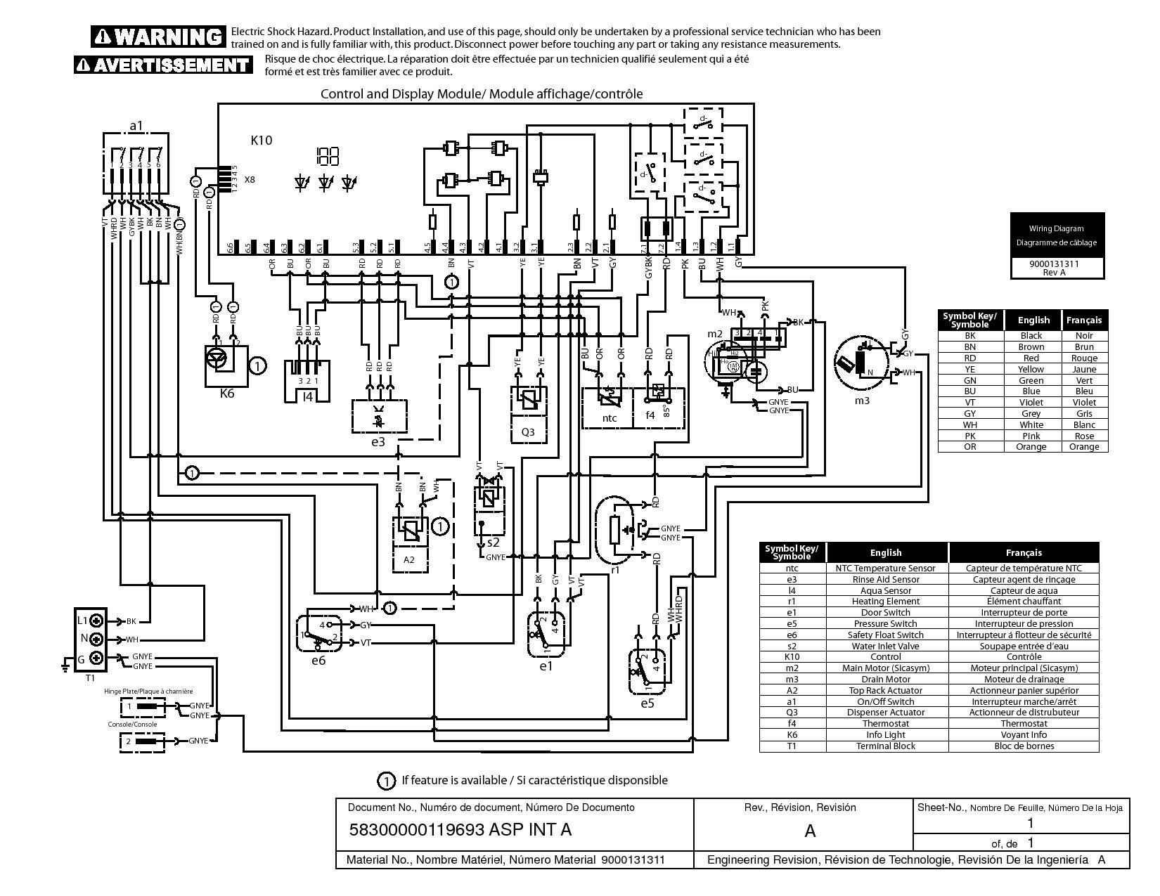 Dishwasher Motor S62nxplp Wiring Diagram