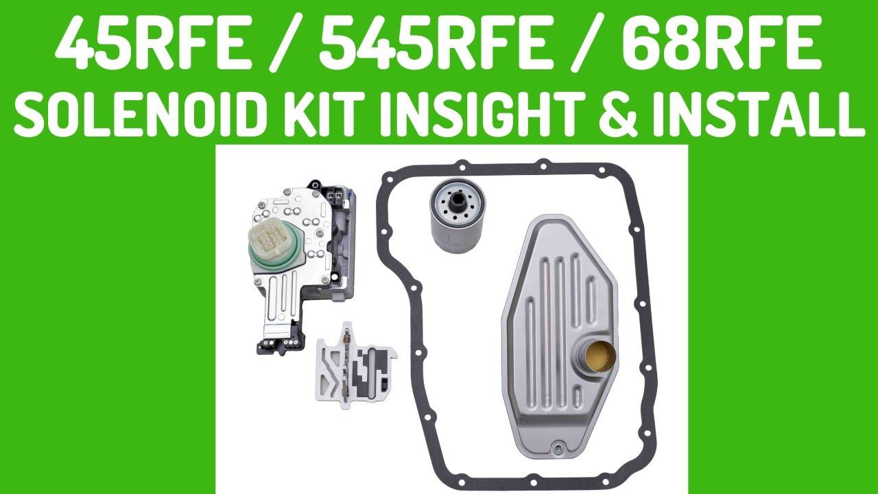 Dodge 62te Transmission Solenoid Pack Wiring Diagram